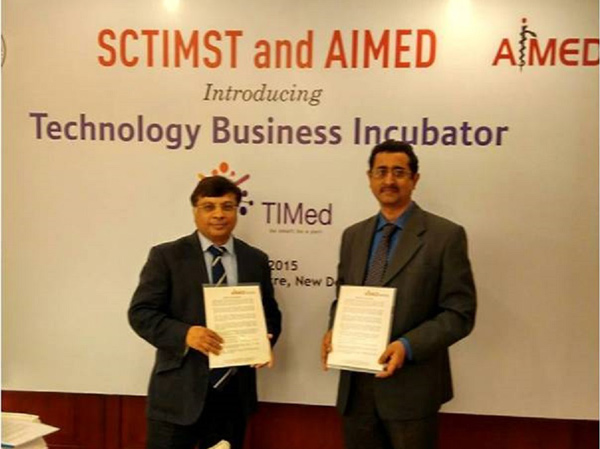 MOU signed between SCTIMST-TIMed and AIMED